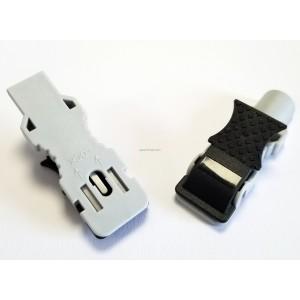 Adaptateurs double pour électrodes pression ET languettes