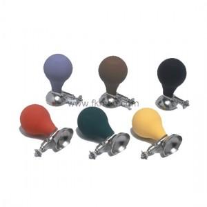 Electrodes précordiales poire ECG couleurs (par 6 pcs)