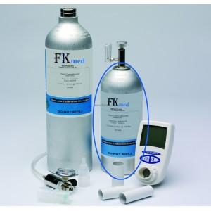 Bouteille de gaz étalon pour calibration des testeurs Micro-CO et Bébé-CO